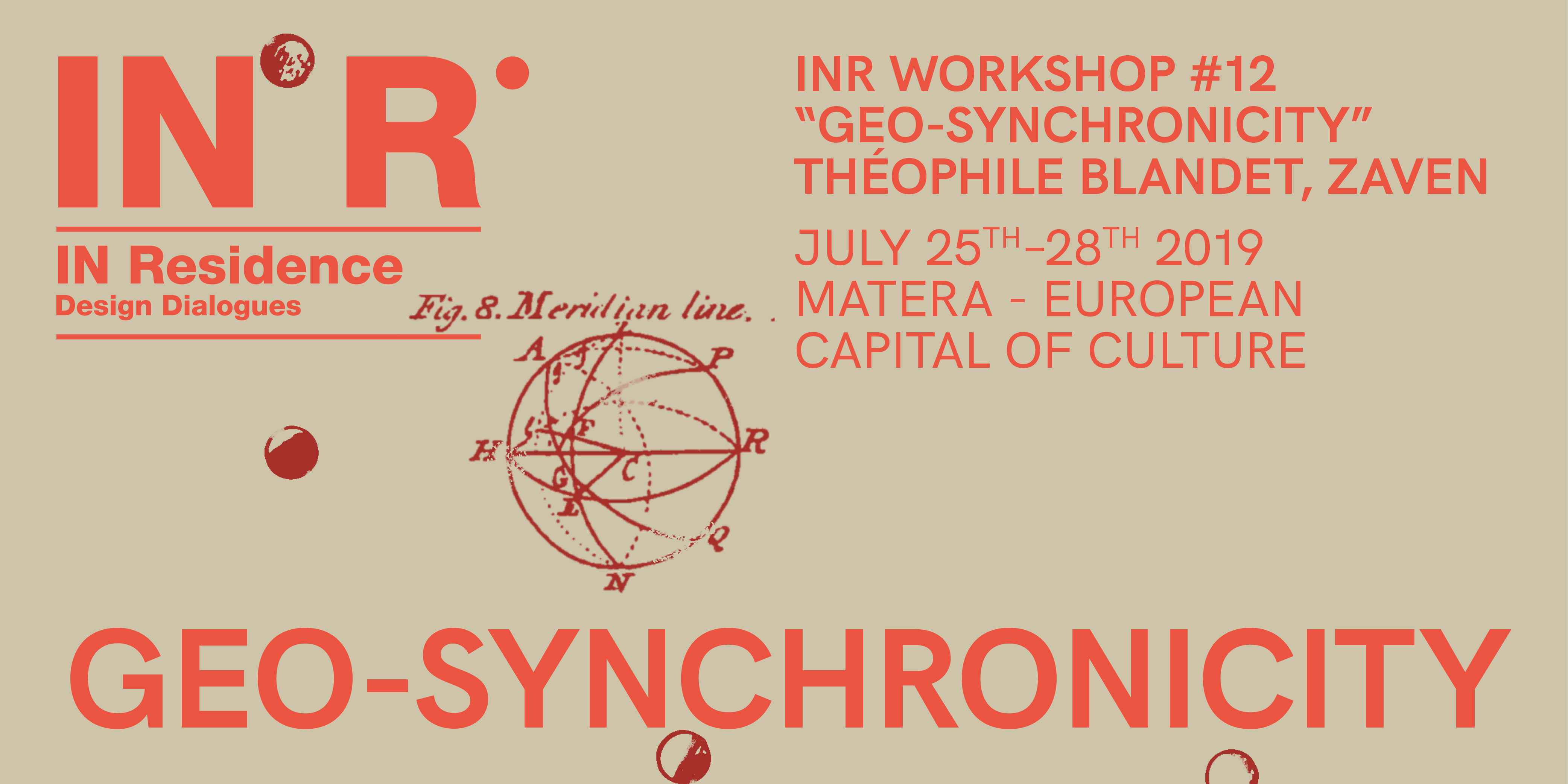 "WORKSHOP #12: ""GEO-SYNCHRONICITY"""